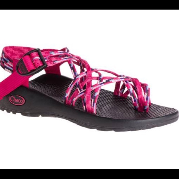 12697da4da1f Chacos Shoes - Triple Strap Pink Chacos